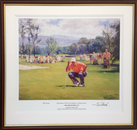 Tiger Woods At The K Club, Straffan, Co. Kildare, Ireland