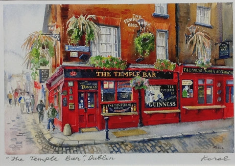 The Temple Bar, Dublin - Green Gallery