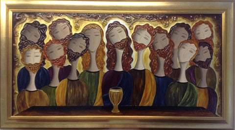 The Last Supper by Giuliana Gardelliano - Green Gallery