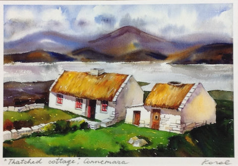 Thatched Cottage, Connemara - Green Gallery