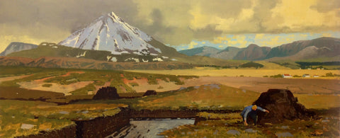 Bog Days Errigal Co.Donegal by John F. Skelton - Green Gallery