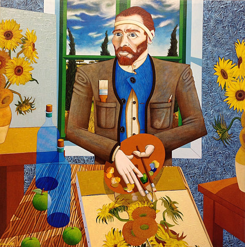 Vincent At Arles - Green Gallery