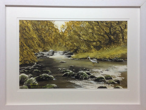 Avonmore River. Laragh, Co. Wicklow by Peter Knuttel - Green Gallery