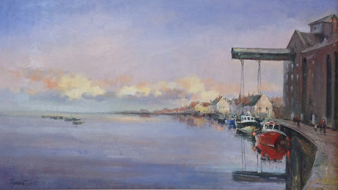Wells Next To Sea. Norfolk by Tetyana Tsaryk - Green Gallery