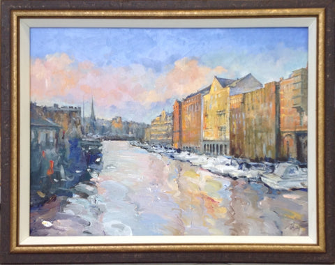Bristol Harbour by Tetyana Tsaryk - Green Gallery