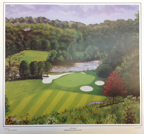 10th Hole. Hermitage Golf Club - Green Gallery