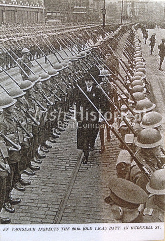 An Taoiseach Inspects the 26th Batt, O 'Connell St - Green Gallery