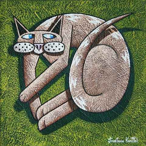 Irish Cat - Green Gallery