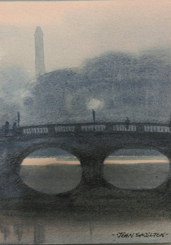 Liffey at Dusk by John Skelton(1925 Armagh-2009 Dublin) - Green Gallery