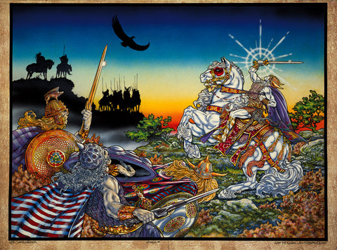 Lugh The Il-Dána.1979. by Jim FitzPatrick - Green Gallery