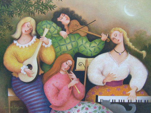 Moonlight Quartet by Joanne Taylor - Green Gallery