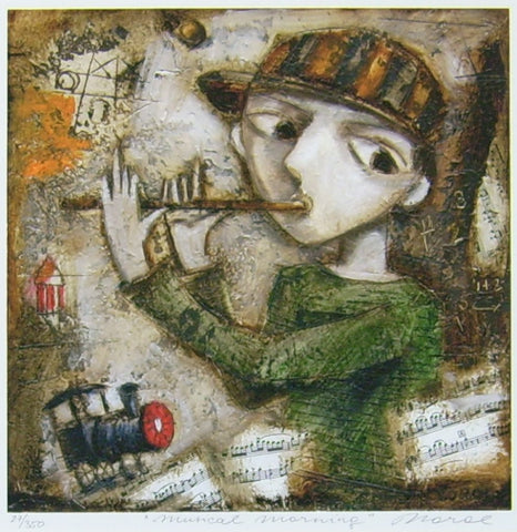 Musical Morning by Ludmila Korol - Green Gallery