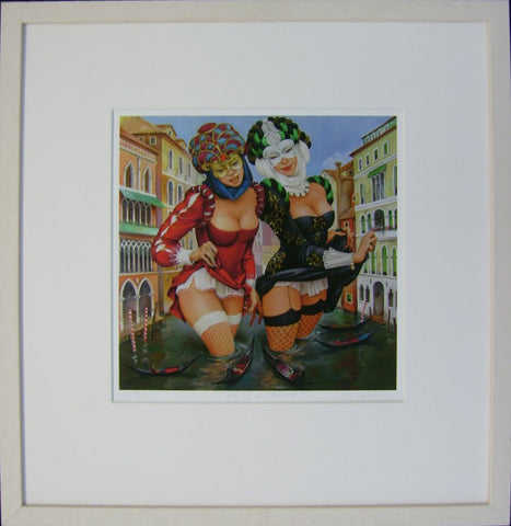 Party In Venice by Andrius Kovelinas - Green Gallery