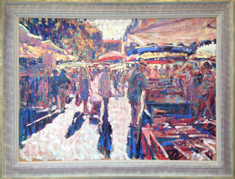 Ganges Market. Midi France by Arthur K. Maderson - Green Gallery