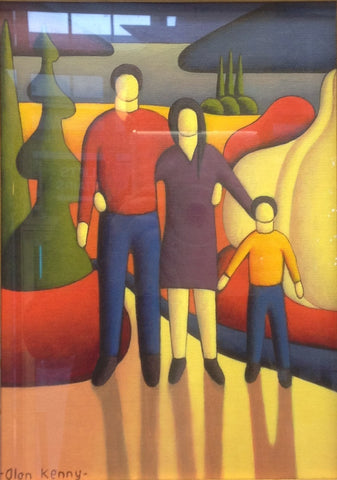 'A Family' - Green Gallery