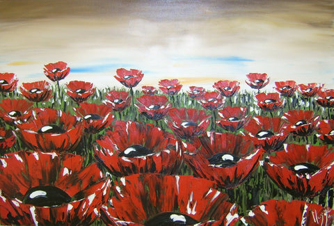 Poppies - Green Gallery