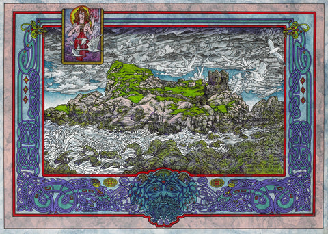 Rathlin Island by Jim FitzPatrick - Green Gallery