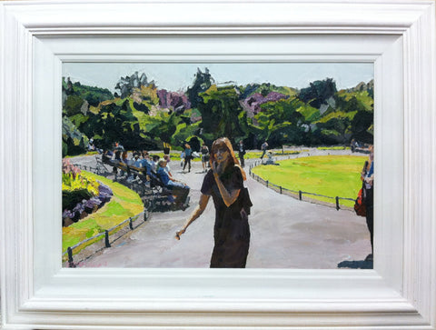 Stephen's Green, Sunshine by Stephen Cullen - Green Gallery