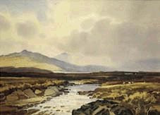 Sun and Shadow, Donegal by John Skelton - Green Gallery