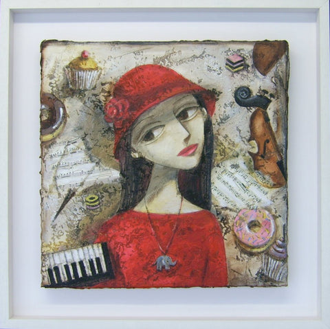 'Sweet Music I' by Ludmila Korol - Green Gallery