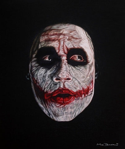 'The Joker' canvas print