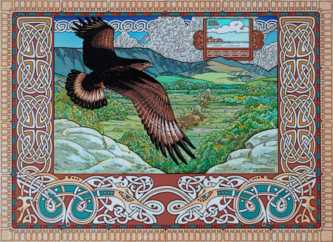 Tuan The Sea Eagle by Jim FitzPatrick - Green Gallery