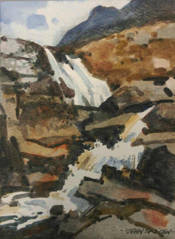 Donegal Waterfall by John Skelton(1925 Armagh-2009 Dublin) - Green Gallery