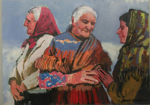 Women of Aran - Green Gallery
