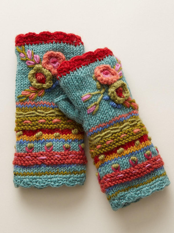 Casual Knit Gloves Handwarmers - chiclila.com