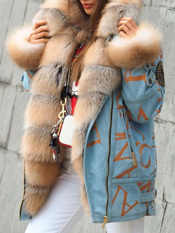 Winter Warm Fluffy Coat Faux Fur Jacket - chiclila.com