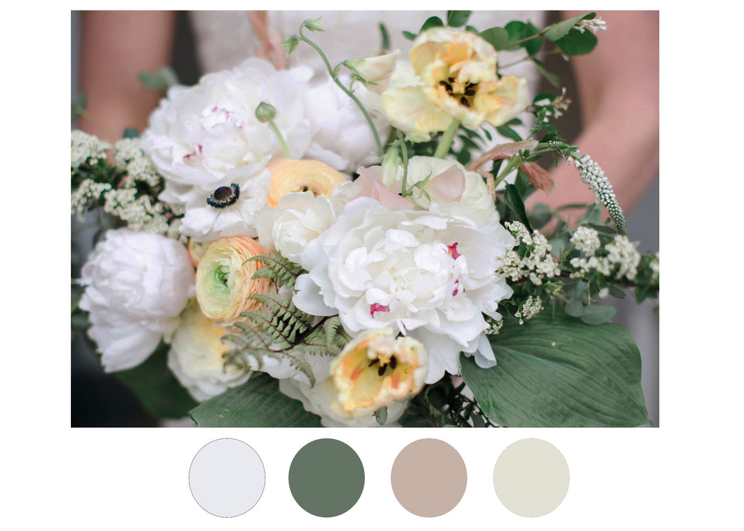 Neutral Wedding Bouquet
