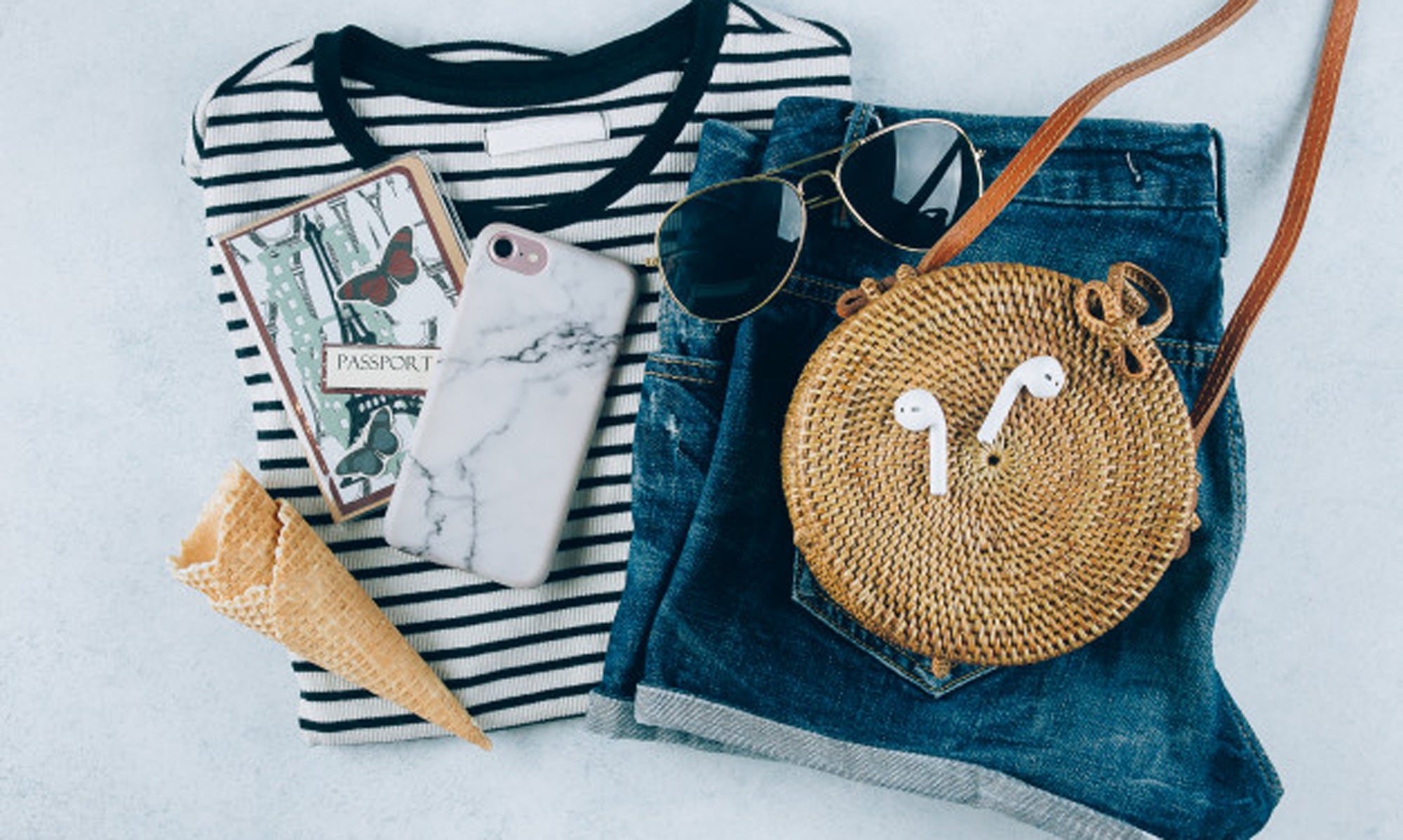 How to Wear a Rattan Bag in the City - 5 Cool Ways to Get you on the Chic List