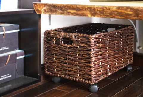 undershelf storage basket