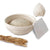 Made Terra Banneton Set of 1 Bannetons 8-Inch Round Banneton Bread Proofing Baskets | With Dough Scraper & Liner