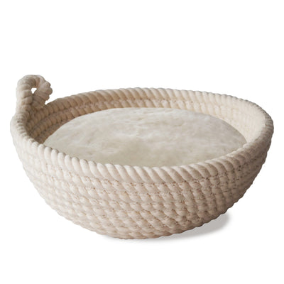 Made Terra Banneton 9-inch Round Cotton Banneton Bread Proofing Basket | Sourdough Rising Baskets for Artisan Bakers