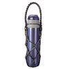 Made Terra Bottle Holder Violet / Set 1 Water Bottle Carrier | Drawstring Drink Holder Pouch (6oz to 30oz Capacity)