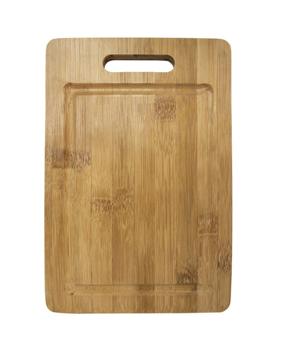 Made Terra Chopping board Large Bamboo Cutting Boards | Anti-Bacterial Wood Chopping Boards for Food Preparation and Display