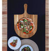 Made Terra Chopping board Wood Pizza Peel Boards | Serving Pan - Paddle Board with Handle