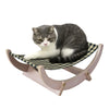 Made Terra MadeTerra Cat Hammock Rat Pet Hanging Bed for Cat Hamster Parrot Squirrel Hedgehog Small Animals Plywood