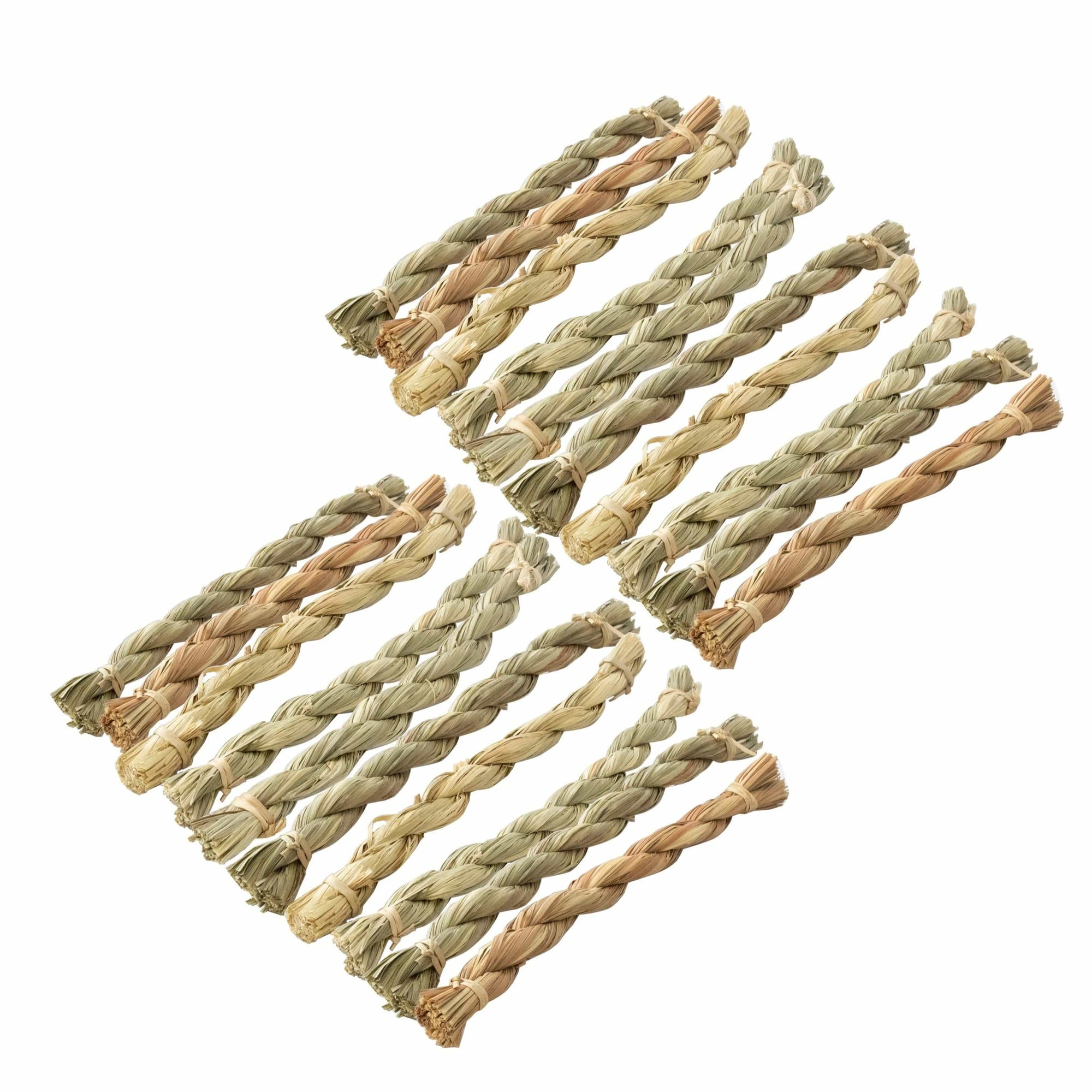 Made Terra Pet Toys SeaGrass Chew Sticks | Non-toxic Pet Snacks & Toys for Genuinea Pigs, Rabbits and Small Pet