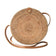 "Star Round Rattan Bag (10"") 