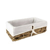 Made Terra Wicker Basket Set 1 (Twisted weaving) Storage Container Baskets with Liner - Water Hyacinth | Multi-funtional storage solution