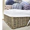 Woven Wicker Storage Baskets (Seagrass) | Decorative Baskets and Bathroom Organizers