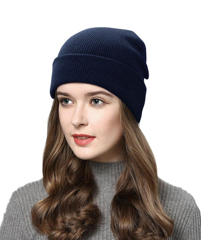Made Terra Wool Hat Beanie for Women and Men - Warm&Soft Winter Acrylic Knit Skull Cuff Cap
