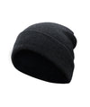 Made Terra Wool Hat Dark Grey WA Beanie for Women and Men - Warm&Soft Winter Acrylic Knit Skull Cuff Cap