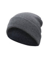 Made Terra Wool Hat Medium Grey WA Beanie for Women and Men - Warm&Soft Winter Acrylic Knit Skull Cuff Cap