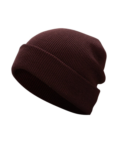 Made Terra Wool Hat Red WA Beanie for Women and Men - Warm&Soft Winter Acrylic Knit Skull Cuff Cap