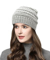 Made Terra Wool Hat Beanie for Women and Men - Warm&Soft Winter Acrylic Patterned Knit Skull Cap