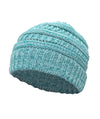 Made Terra Wool Hat Aqua- Baltic WB / Set of 1 Beanie for Women and Men - Warm&Soft Winter Acrylic Patterned Knit Skull Cap
