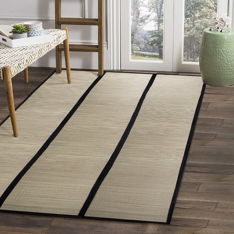 Made Terra Woven Rug Medium Woven Area Rug | Foldable Portable Large  Summer Rug | For Indoor, Outdoor, Picnic
